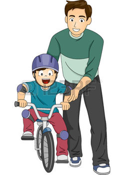 fatherchildbike